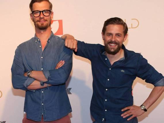 Joko Winterscheidt und Klaas Heufer-Umlauf schleusten den falschen Ryan Gosling ein