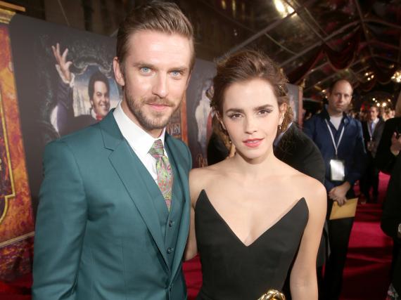 Emma Watson spielte die Schöne, Dan Stevens das Biest