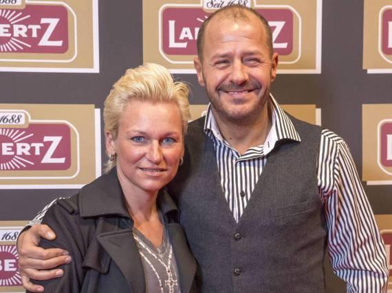 Jana Windolph und Willi Herren bei einem gemeinsamen Auftritt im Jahr 2016