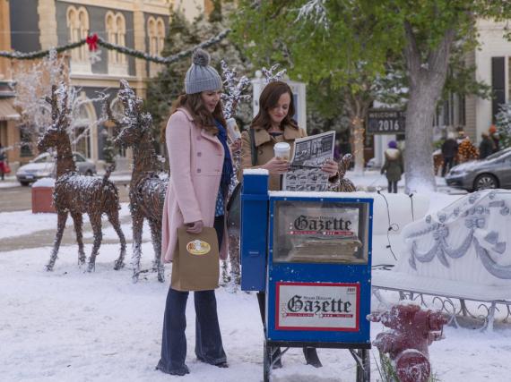 Gute Nachrichten für Lorelai (li., Lauren Graham) und Rory (Alexis Bledel) Gilmore?