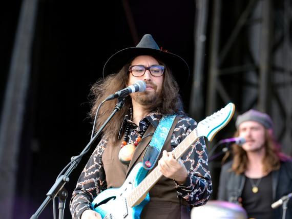 Sean Lennon bei einem Auftritt mit seiner Band The Ghost of a Saber Tooth Tiger