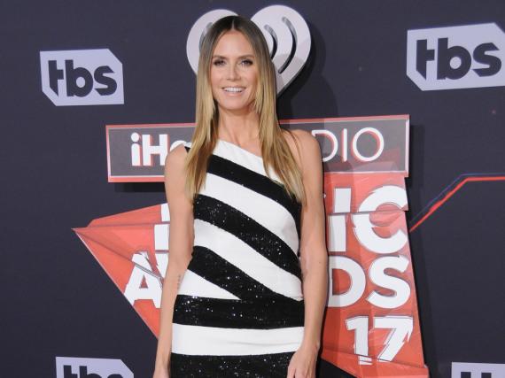 Heiß, heißer, Heidi Klum: Das Model bei den iHeartRadio Music Awards im März 2017