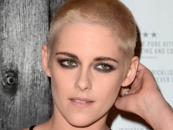 Kristen Stewart setzt den Frühjahrs-Haartrend in extremer Form um