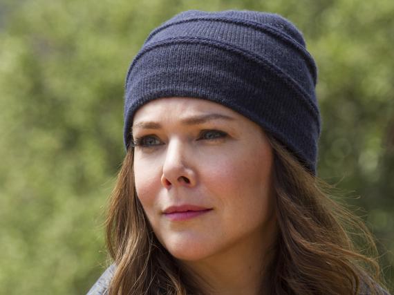 Lauren Graham als Lorelai Gilmore in der Netflix-Fortsetzung