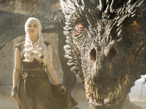 Erreicht endlich ihr Ziel: Daenerys Targaryen (Emilia Clarke) und ihre drei Drachen