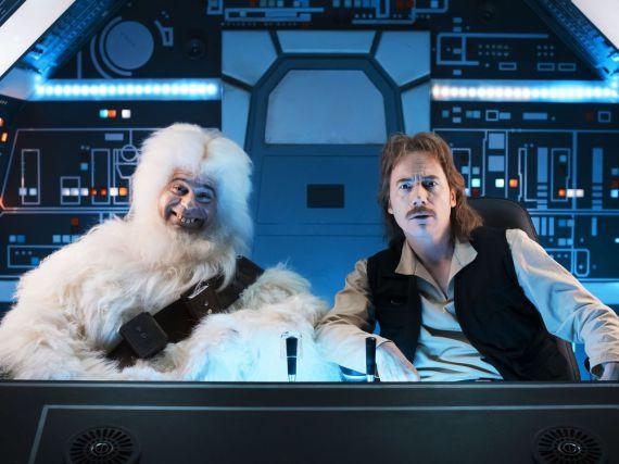 Rick Kavanian als Yeti und Michael Bully Herbig als Sigi Solo