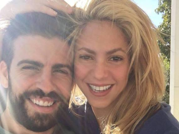 Hatten gestern Abend gut lachen: Pop-Star Shakira und ihr Mann, FC Barcelona-Spieler Gerard Piqué