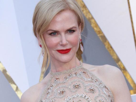 Nicole Kidman sorgte bei der Oscar-Verleihung durch ihre Klatsch-Technik für Erheiterung