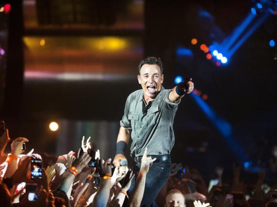 Bruce Springsteen spielt immer wieder in ausverkauften Hallen