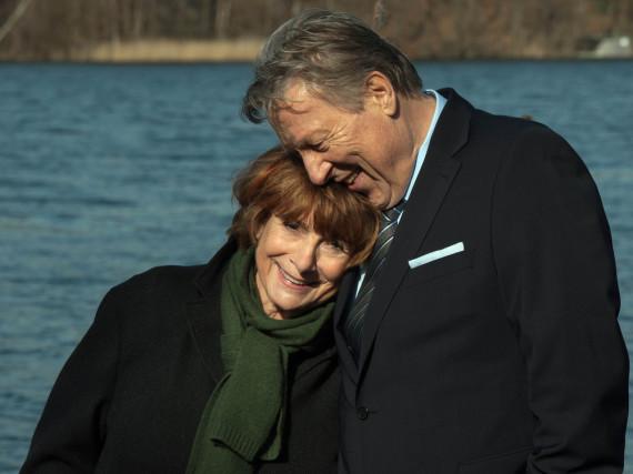 Bella Block (Hannelore Hoger) und Klaus Dieter Mehlhorn (Hansjürgen Hürrig)