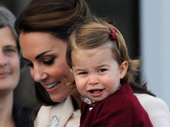 Prinzessin Charlotte hat ihre Familie fest im Griff