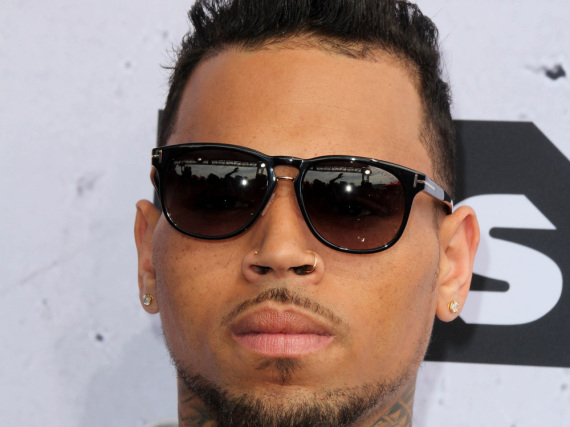 Rapper Chris Brown lebt das Bad-Boy-Image