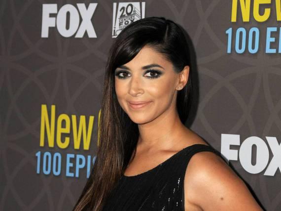 Ein gewisse Ähnlichkeit zwischen Hannah Simone und Kim Kardashian ist nicht zu leugnen