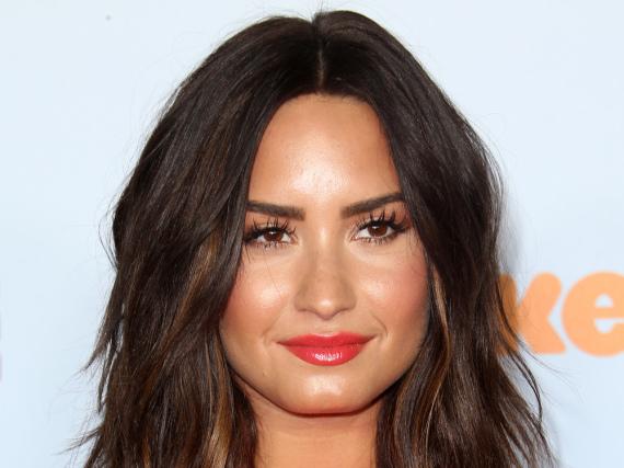 Wurde in diesem Jahr mit Schleim übergossen: Demi Lovato bei den Kids' Choice Awards