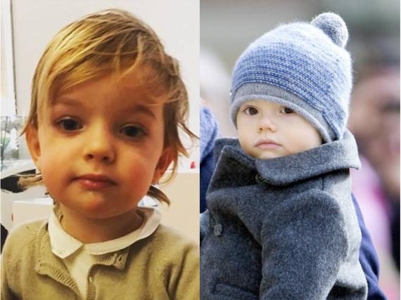 Die beiden Prinzen Nicolas (l.) und Oscar von Schweden sind Cousins
