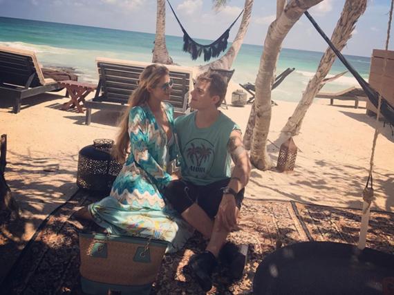 Paris Hilton und Chris Zylka genießen die Zweisamkeit in Mexiko