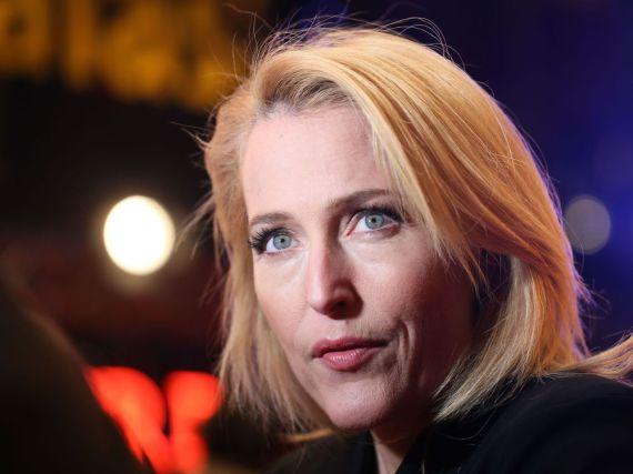 Gillian Anderson im Februar bei der Berlinale