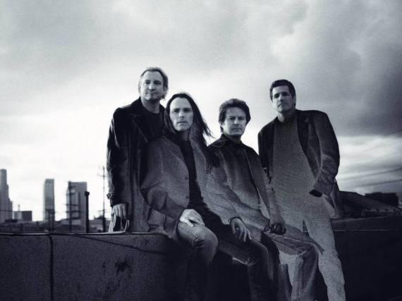 Die Eagles mit dem verstorbenen Glenn Frey (re.)