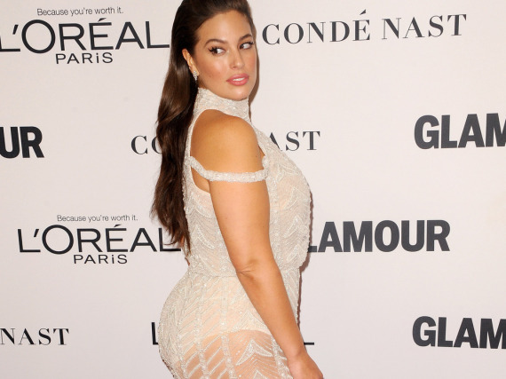 Ashley Graham bei der