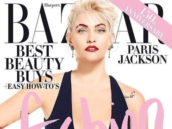 Paris Jackson als Madonna-Lookalike auf dem Cover von