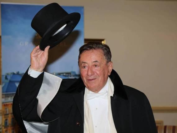 Richard Lugner auf dem Wiener Opernball