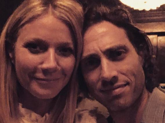 Mit diesem Bild gratulierte Gwyneth Paltrow ihrem Liebsten auf Instagram kürzlich zum Geburtstag