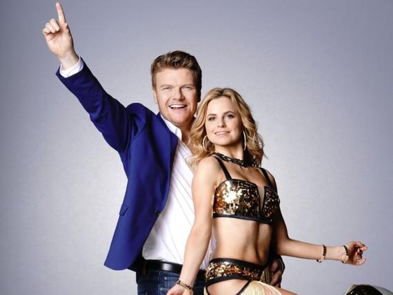 Bastiaan Ragas und seine Tanzpartnerin Sarah Latton