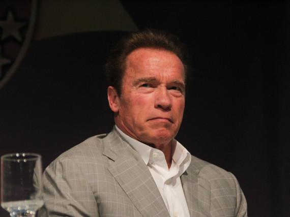 Arnold Schwarzenegger wurde auf dem Drahtesel zum Wiederholungstäter