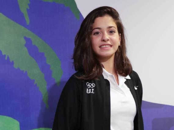 Yusra Mardini nahm für das Flüchtlingsteam bei den Sommerspielen in Rio teil