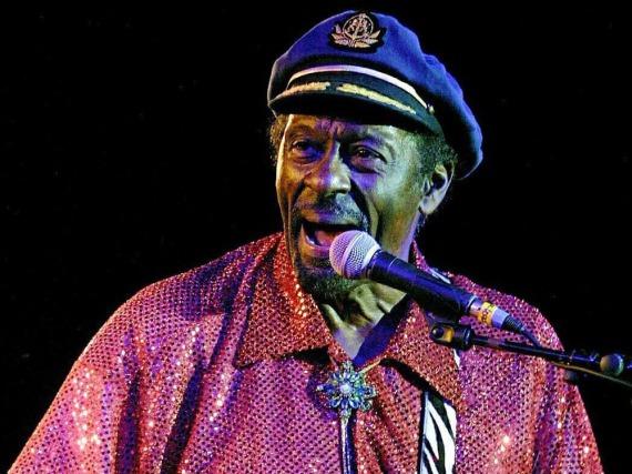 Chuck Berry gilt als Ikone des Rock'n'Roll
