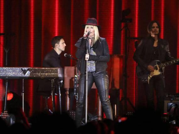 Sarah Connor bei ihrem Konzert in Berlin am 18. März