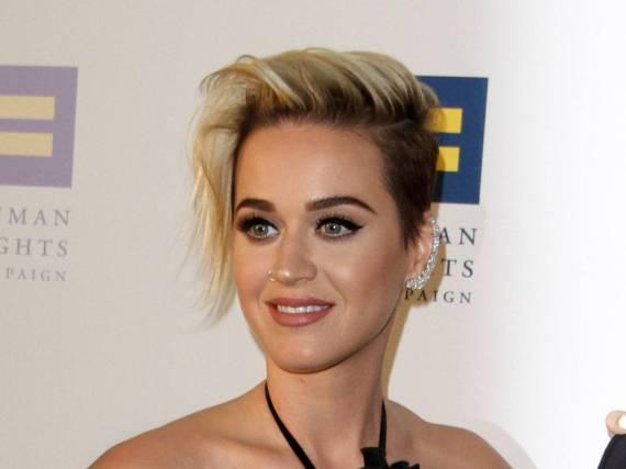 Katy Perry während des Auftritt bei der