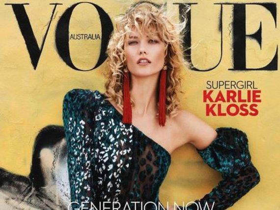 Karlie Kloss auf der April-Ausgabe der australischen