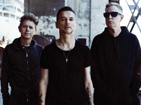 Die Kult-Musiker von Depeche Mode melden sich zurück (v.l.): Martin Gore, Dave Gahen und Andrew Fletcher