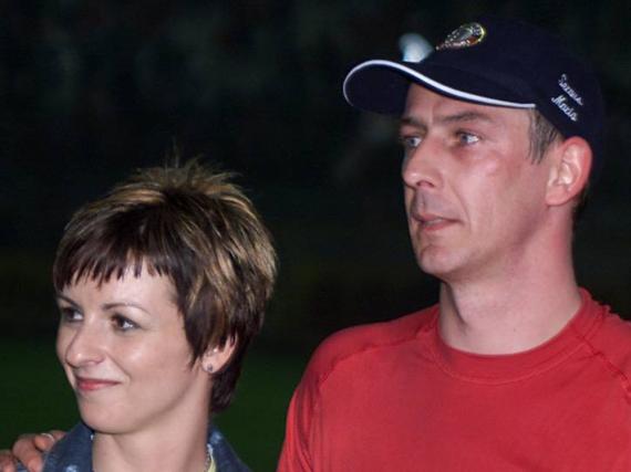 Mario Basler und seine Frau Iris im Jahr 2005. Vier Jahre später folgte die Scheidung. Jetzt haben die beiden wieder zueinandergefunden