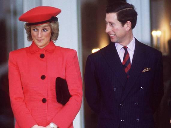 Lady Diana und Prinz Charles bei einem gemeinsamen Auftritt im Jahr 1987