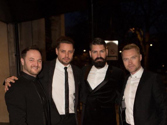 Die verbliebenen vier Boyzone-Mitglieder bei einer ihrer zahlreichen Reunions