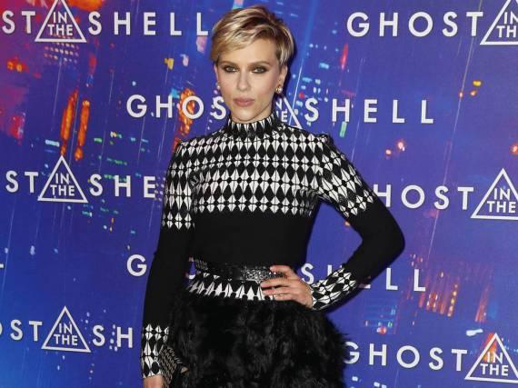 Unkonventionell, aber cool: Scarlett Johansson in Azzedine Alaïa