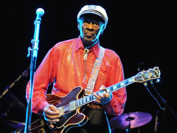 Er war ein echter Rock'n'Roll-Pionier: Chuck Berry
