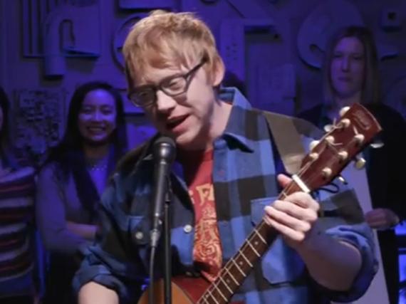 Rupert Grint als sein alter Ego Ed Sheeran