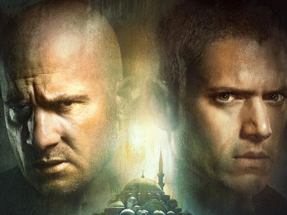 Die Brüder sind wieder vereint: Lincoln Burrows (Dominic Purcell, l.) und Michael Scofield (Wentworth Miller) aus