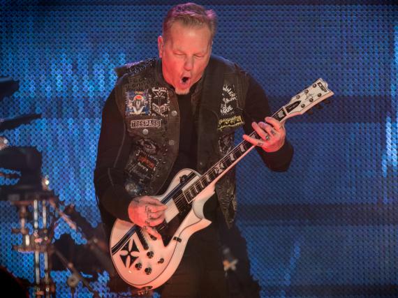 James Hetfield ist einer der besten Metal-Gitarristen der Welt