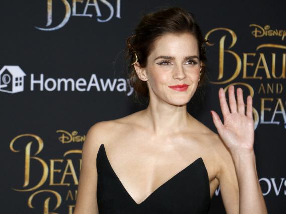 Emma Watson sahnt dank