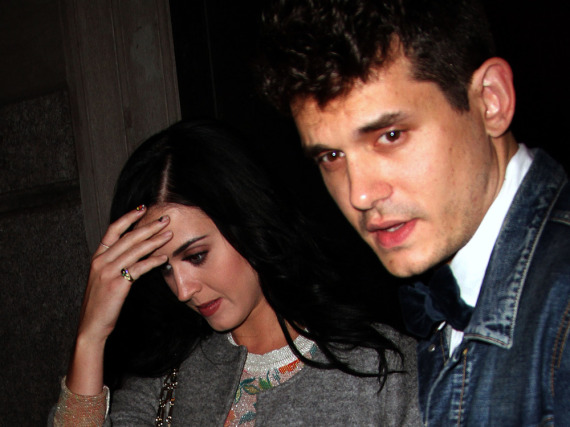 Katy Perry und John Mayer im Oktober 2012