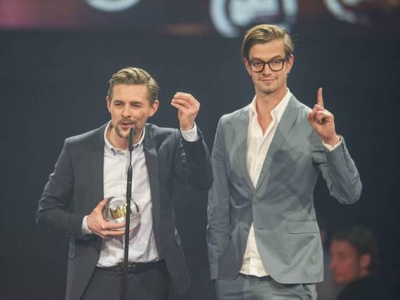 Klaas Heufer-Umlauf (l.) und Joko Winterscheidt landeten mit dem falschen Ryan Gosling einen echten TV-Scoop