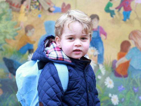 Für Prinz George geht es ab September in die Schule