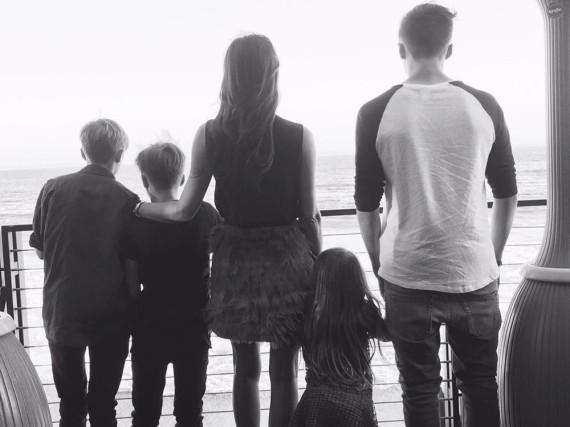 David und Victoria Beckham haben insgesamt vier Kinder, drei Söhne und eine Tochter