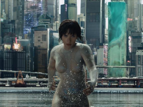 Scarlett Johansson spielt in