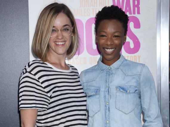 Lauren Morelli (l.) und Samira Wiley sind seit 2014 ein Paar