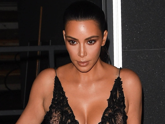 Kim Kardashian bei einem Event in New York City